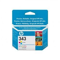HP 343 - couleurs (cyan, magenta, jaune) - originale - cartouche d'encre