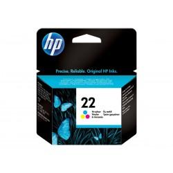 HP 22 - couleurs (cyan, magenta, jaune) - originale - cartouche d'encre