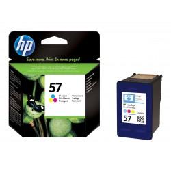 HP 57 - couleurs (cyan, magenta, jaune) - originale - cartouche d'encre